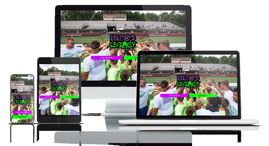 Lelito's-Legacy-Foundation-Website-Sample