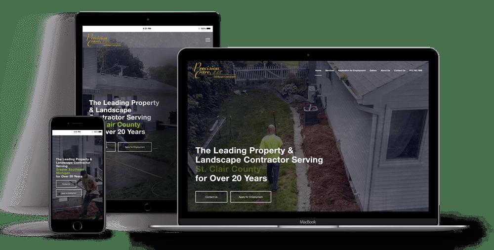 Precision-Care-Website-Mockup